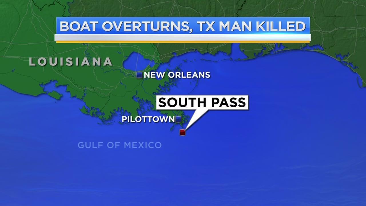 Texas man dead after boating accident in Louisiana