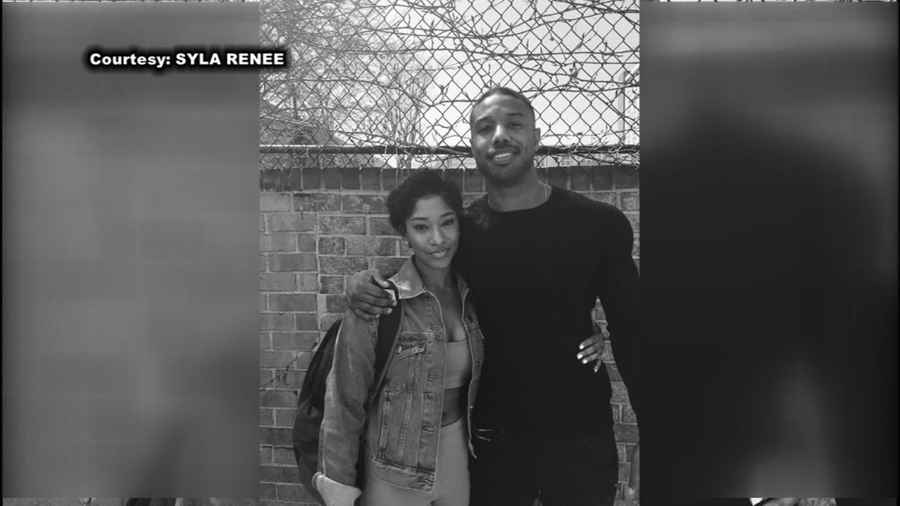 Micheal B. Jordan met with a fan who contacted him on social media