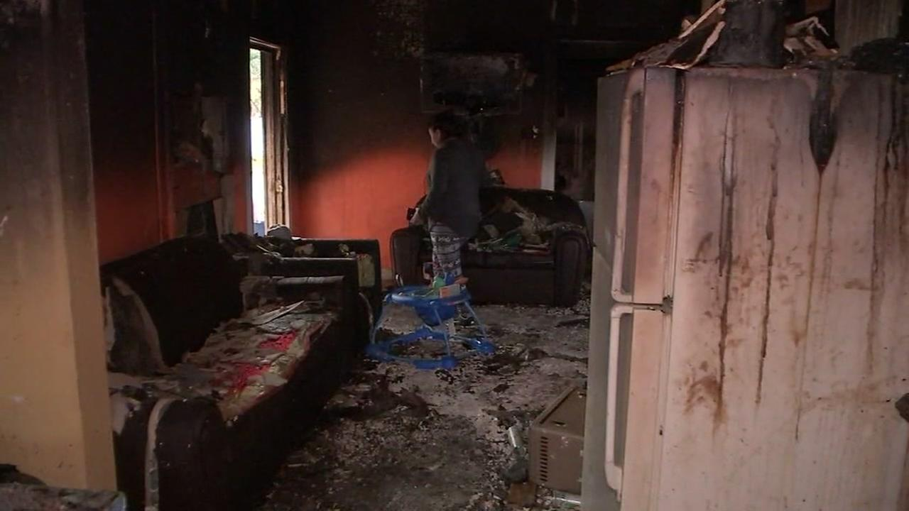 Family left homeless after 3-alarm fire