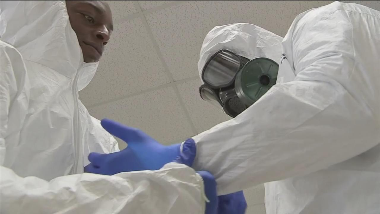 Troops heading to assist in Ebola outbreak
