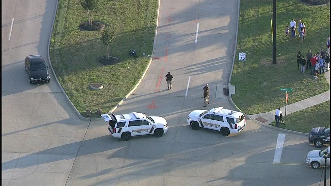 Child hit by vehicle in Katy