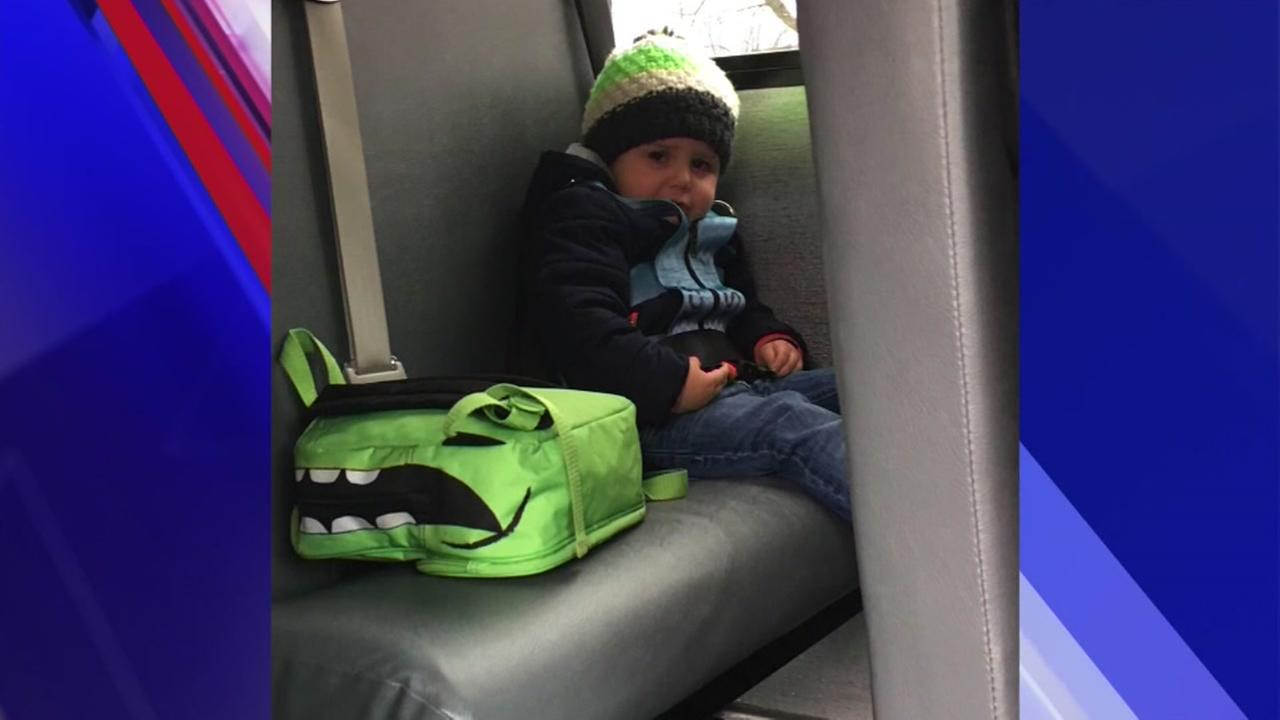 A mother wants answers after son is left on bus