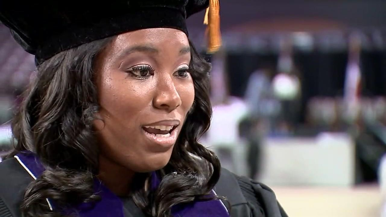 Ieshia Champs graduates from TSU