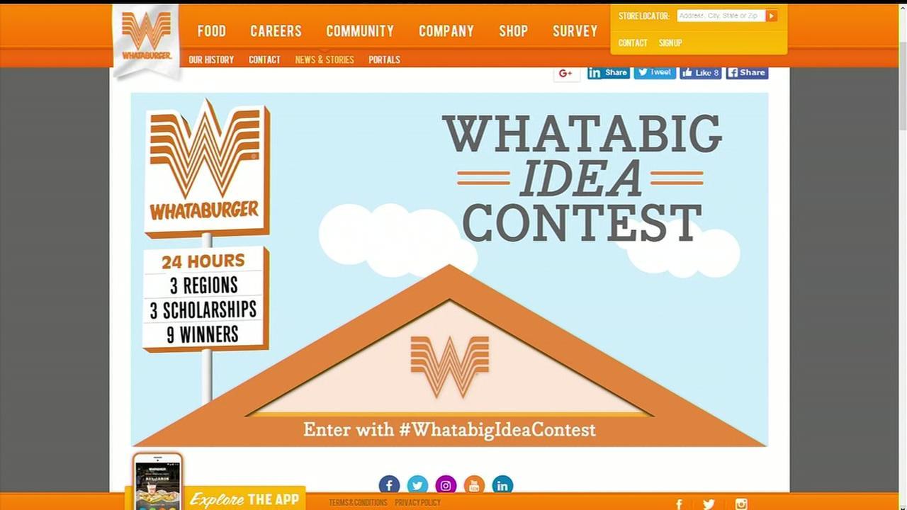Whataburger contest
