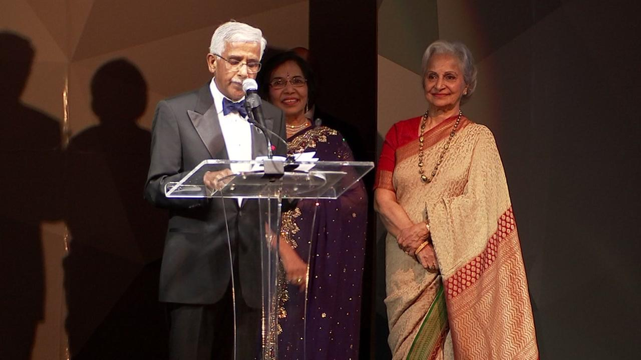 2018 Pratham Gala raises funds for child literacy in Houston with Bollywood actress Waheeda Rehman