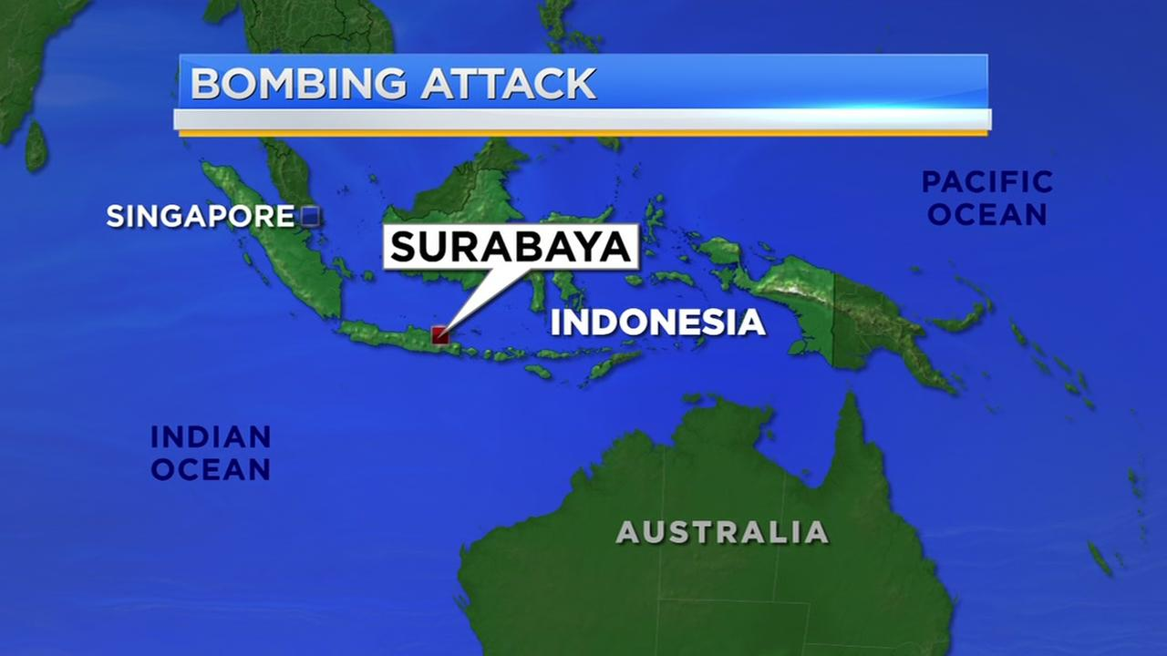 Police: Indonesia suicide bombings work of 2 families