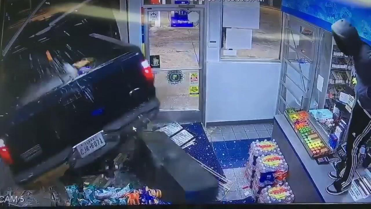 Surveillance video shows smash and grab