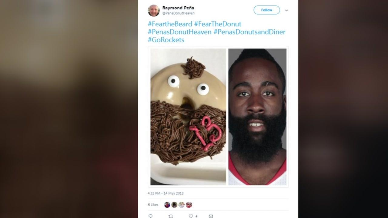 Pearland donut shop offers the James Harden donut