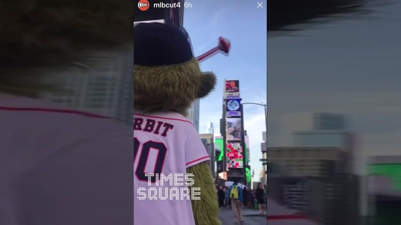 Astros Orbit tours NYC