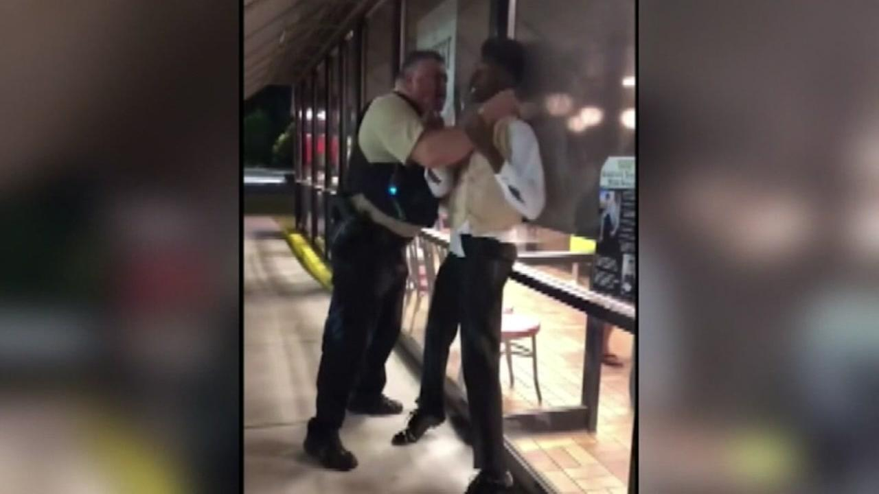 Officer in viral choking incident at Waffle House on administrative leave