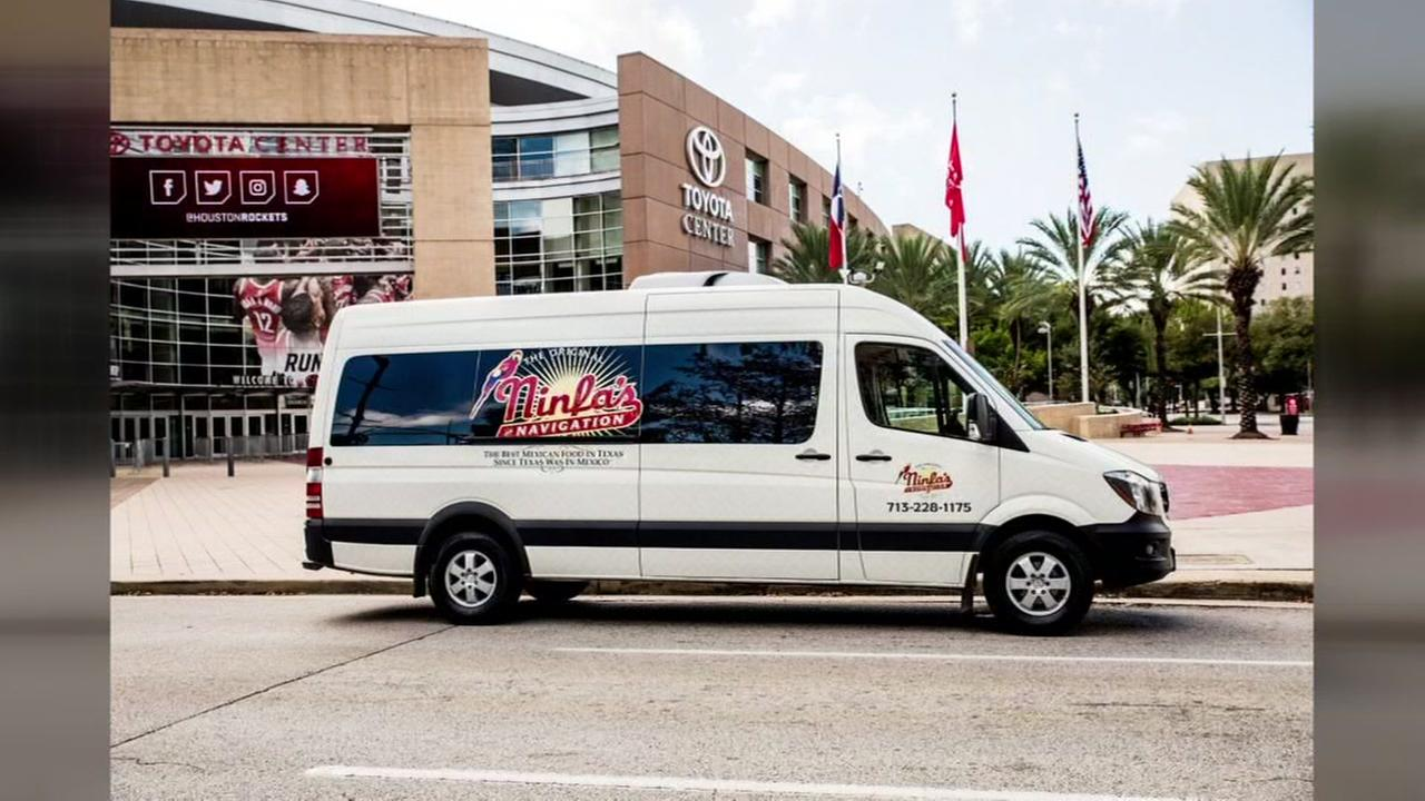 Ninfas shuttle to Rockets game