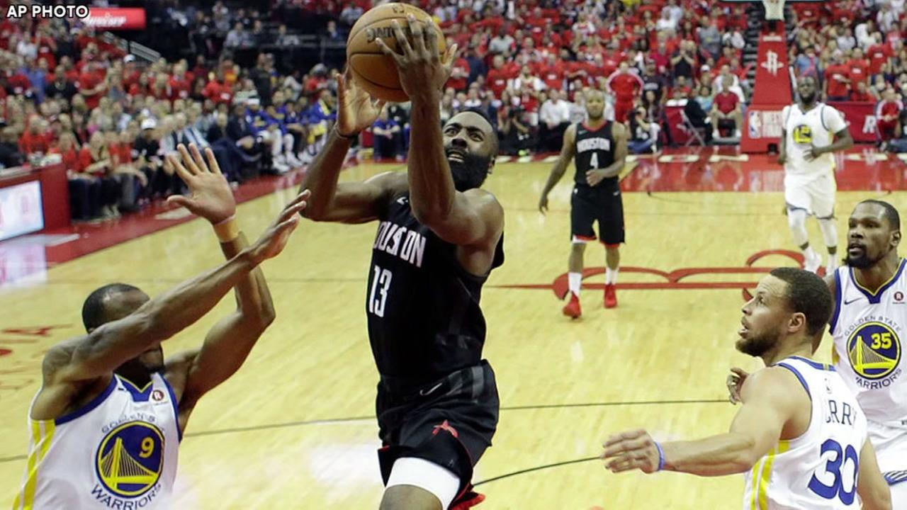 Rockets Game 2 vs. Warriors