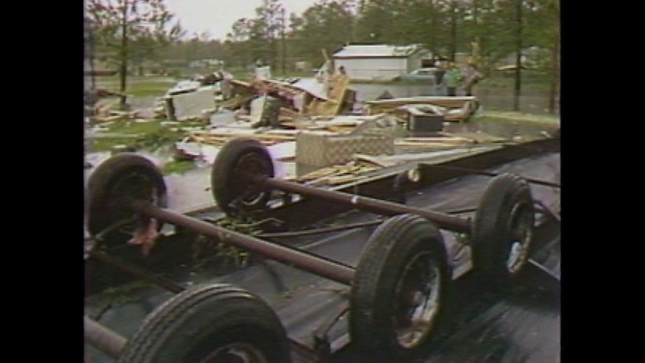 Deadly tornadoes tore through Houston 35 years ago