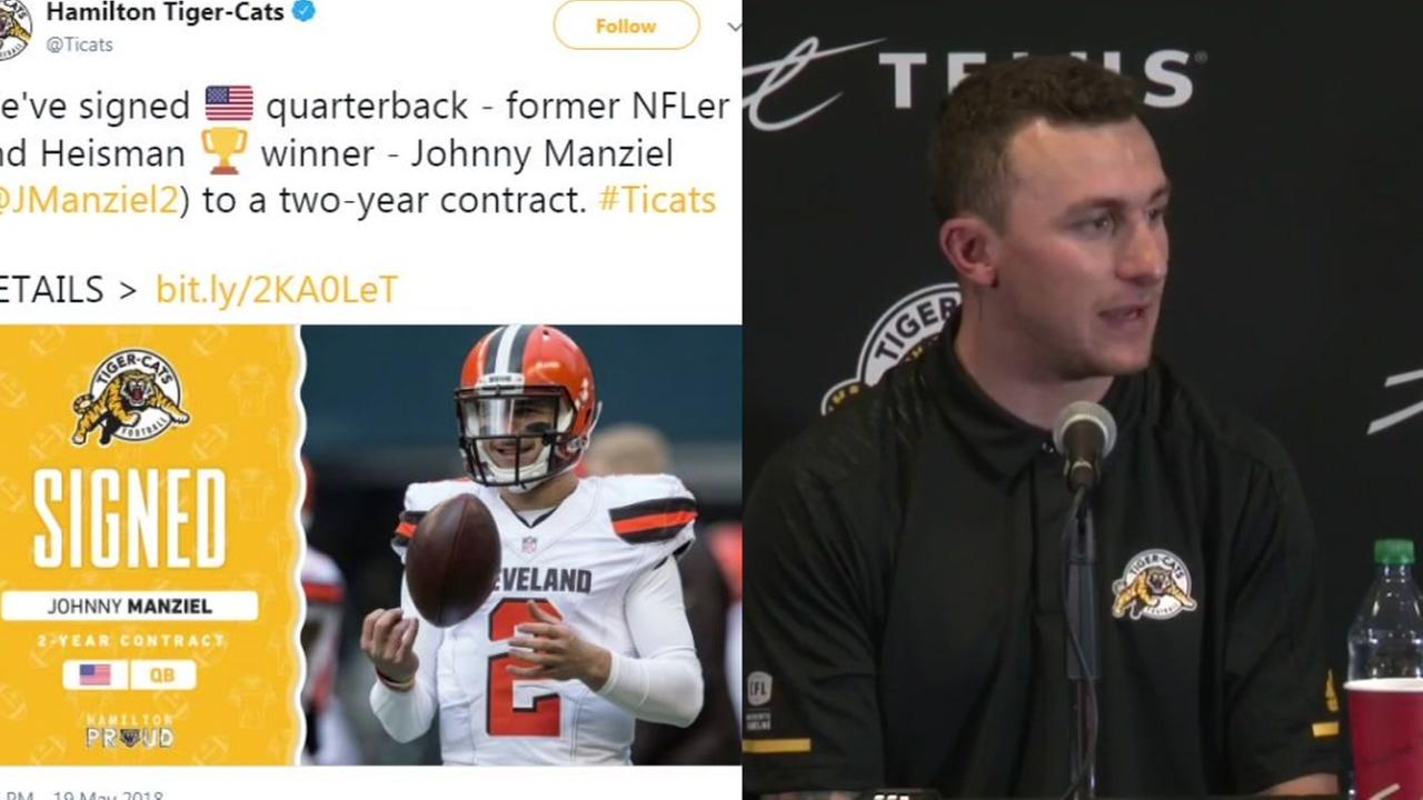 Johnny Manziel headed to CFL
