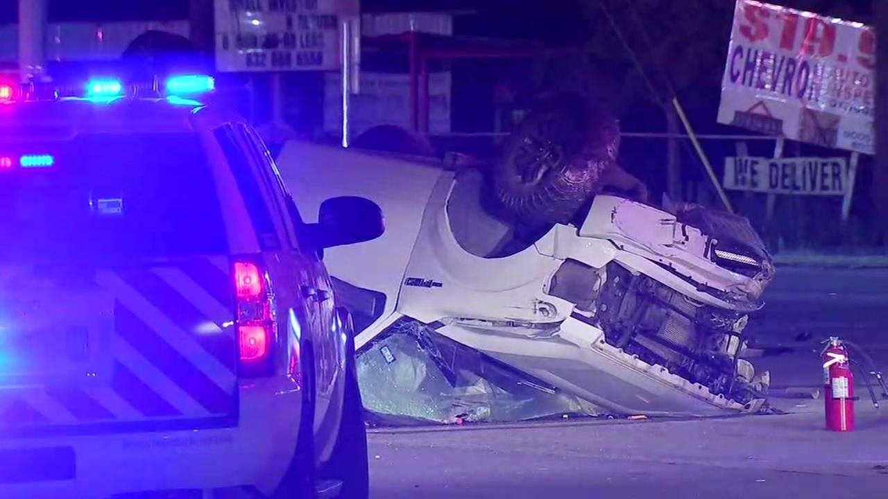 One person killed in NE Harris County wreck