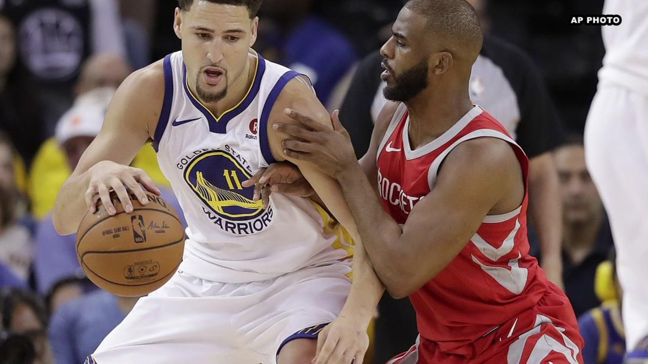Rockets drop Game 3 to Warriors, trail series 2-1