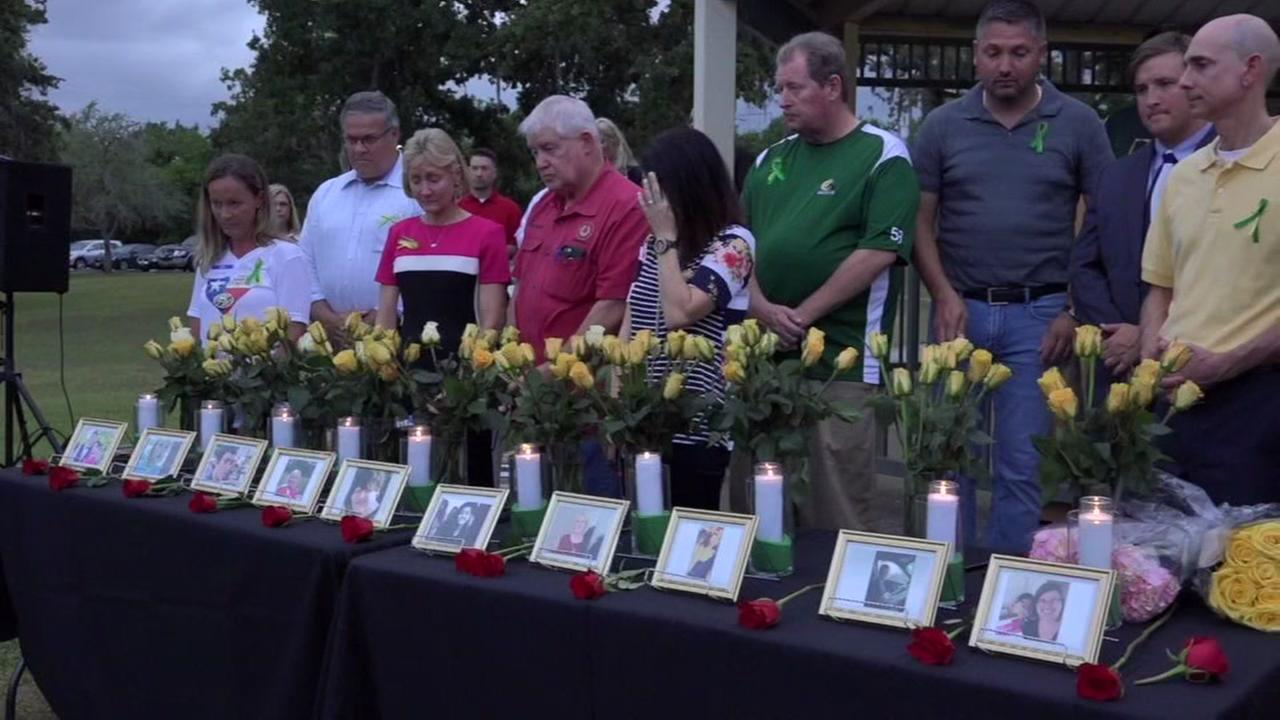 Communities honor Santa Fe victims