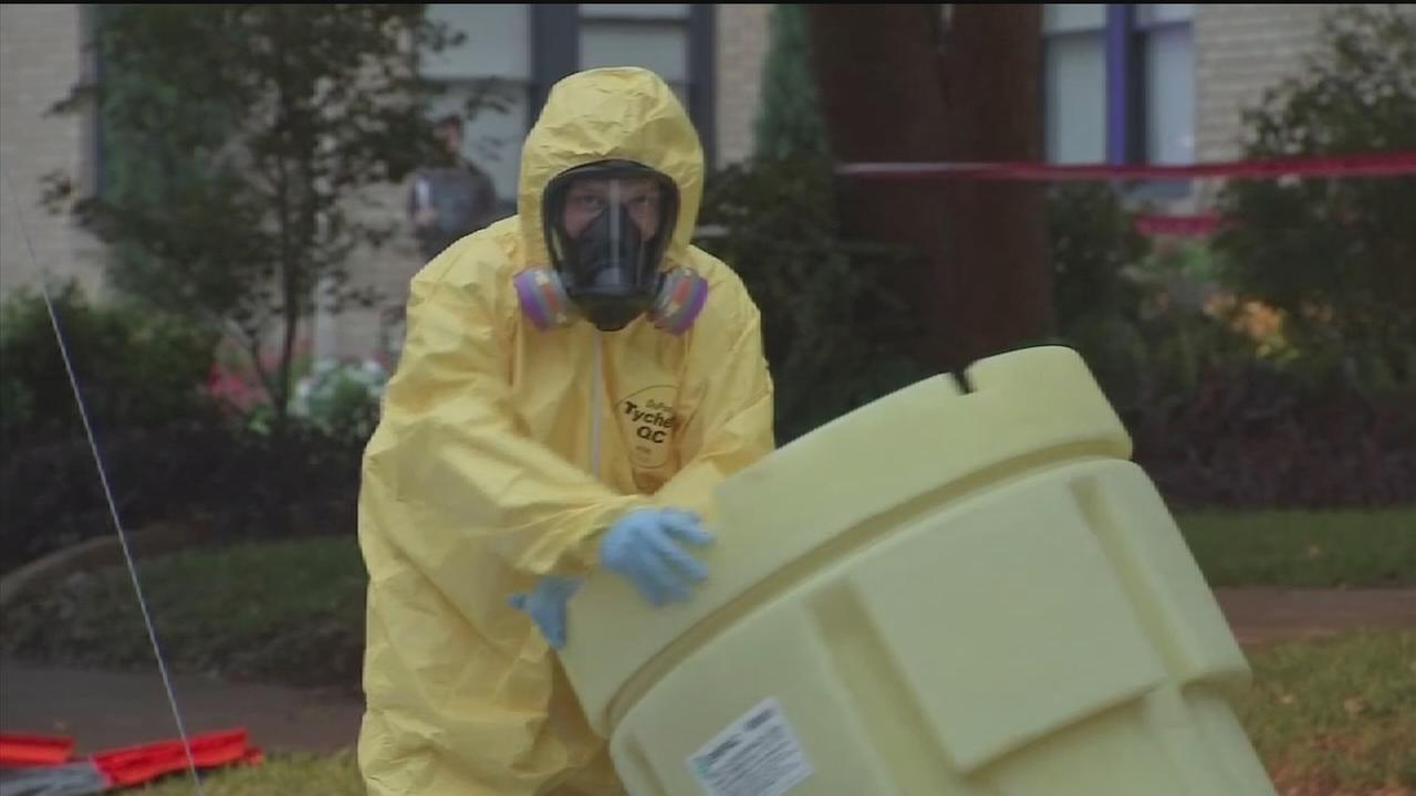 Officials say incinerated Ebola ashes pose no threat