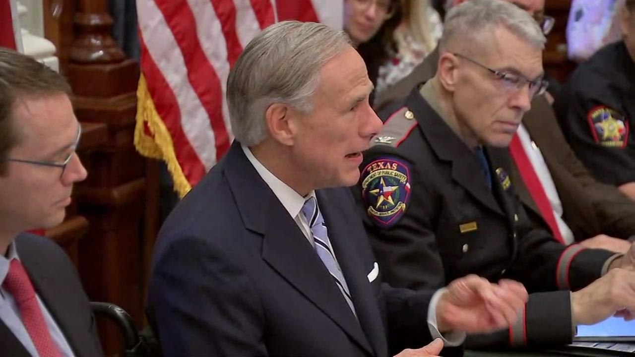 Gov. Abbott host first round table discussion on school shootings