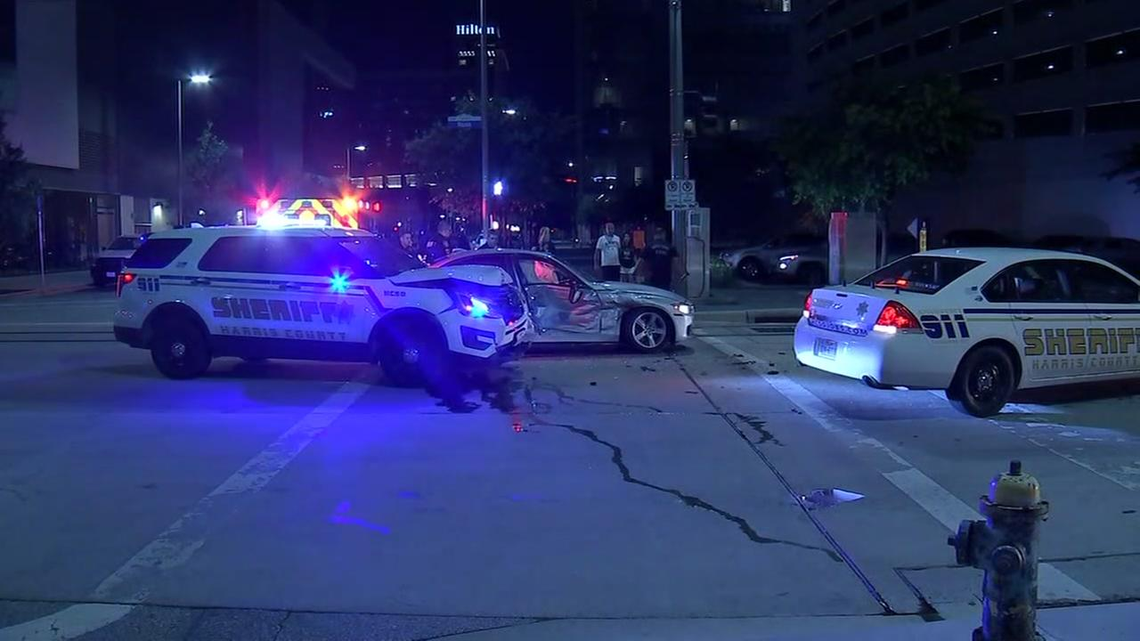 Deputies chase boy into downtown Houston