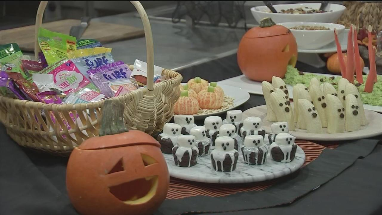 recipes for healthy halloween treats for kids | abc13