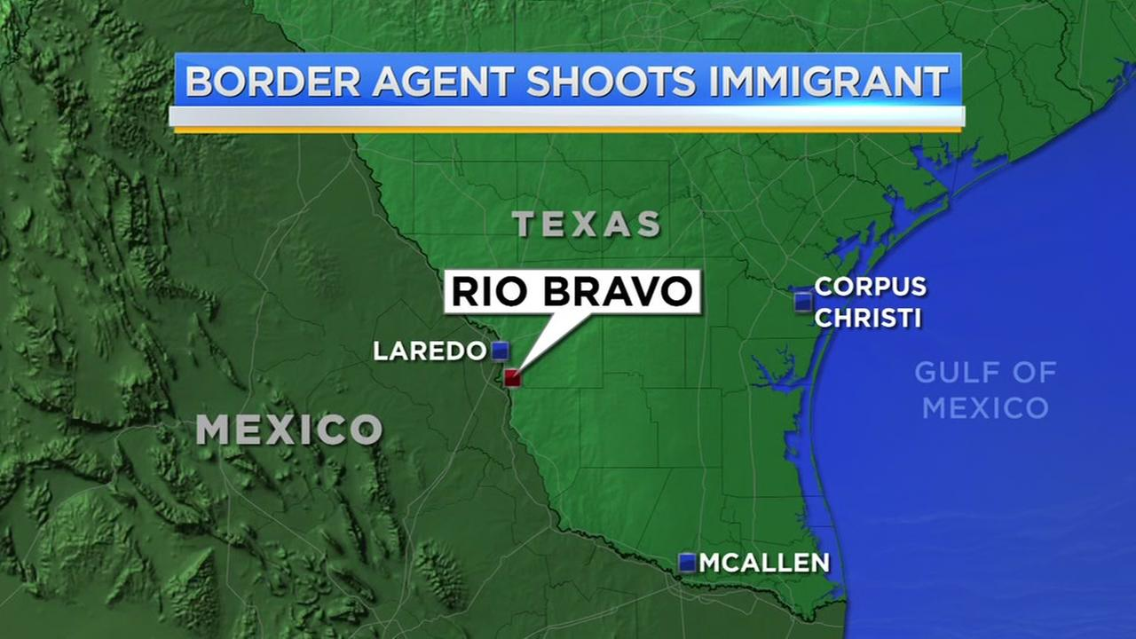 Border agent shoots immigrant at the Texas Mexico border
