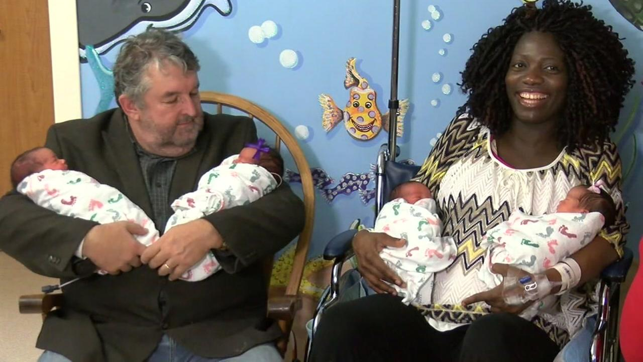 First quadruplets born at Waco hospital