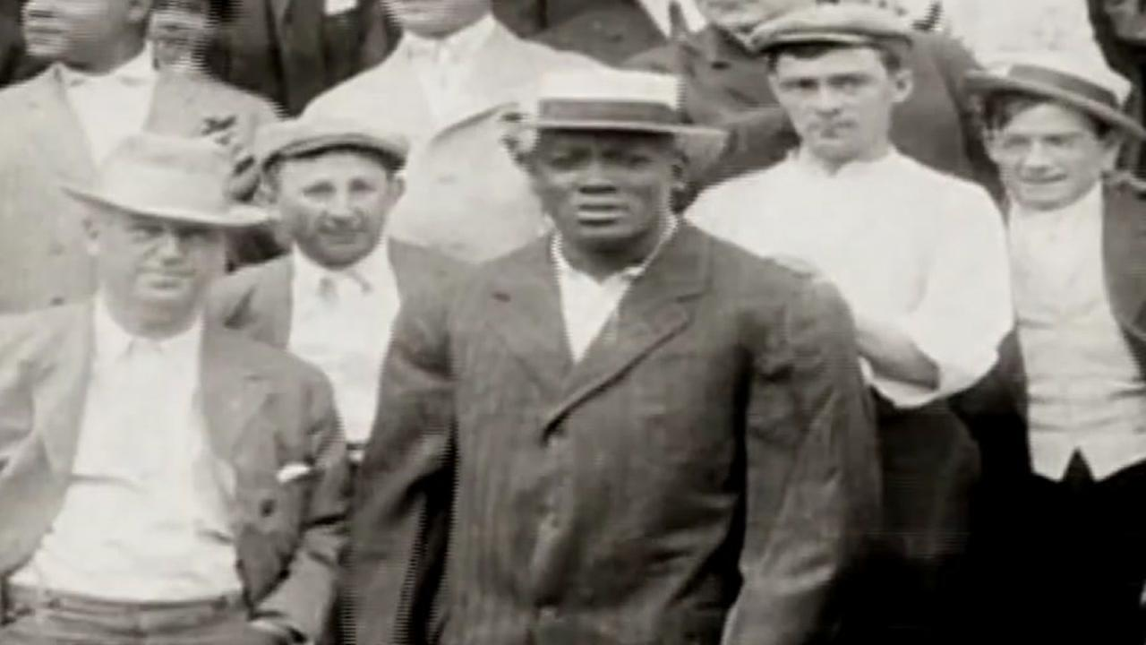 From the ABC13 archive, story on dedication of Jack Johnson Park in Galveston