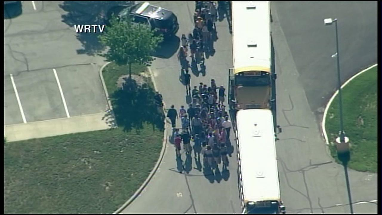 Active shooter taken into custody at Indiana middle school