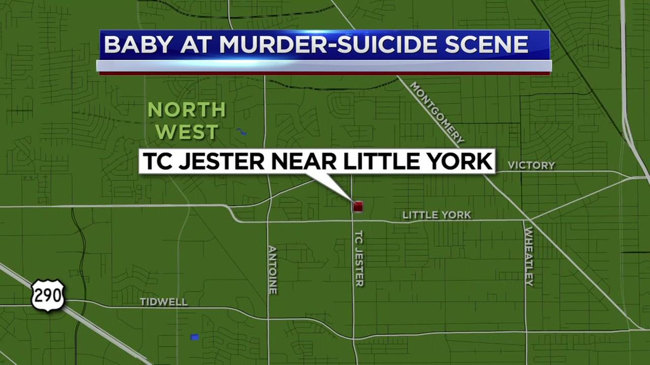 Baby rescued after both parents found dead