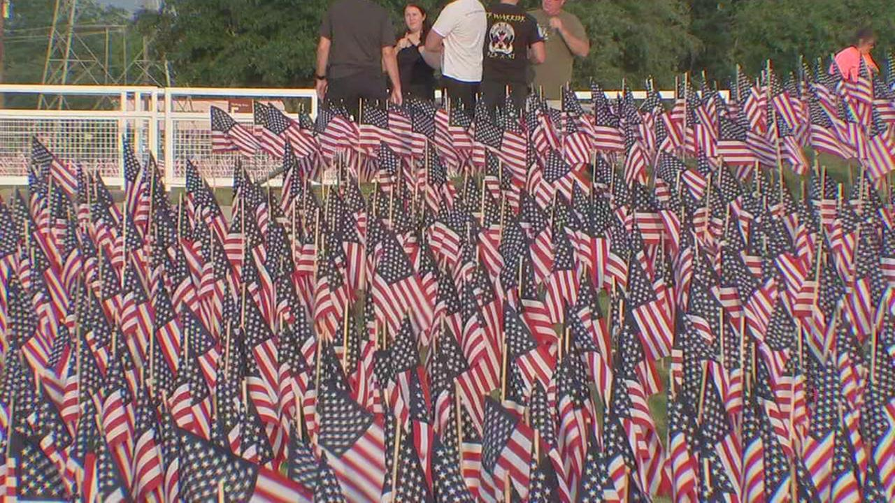 Sagemont Church places 38,000 American flags outside in honor of Memorial Day