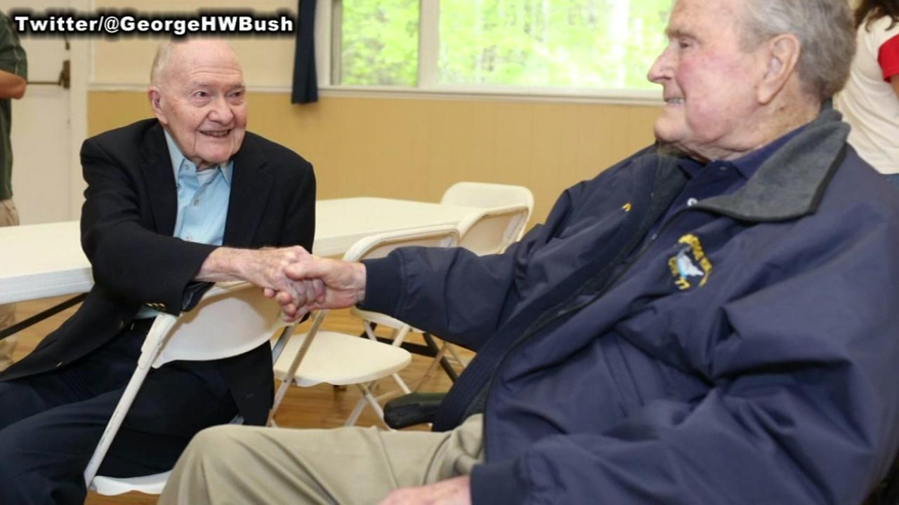 George H.W. Bush in hospital