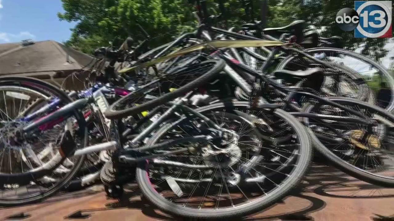 64 stolen bikes found in Midtown Houston neighborhood