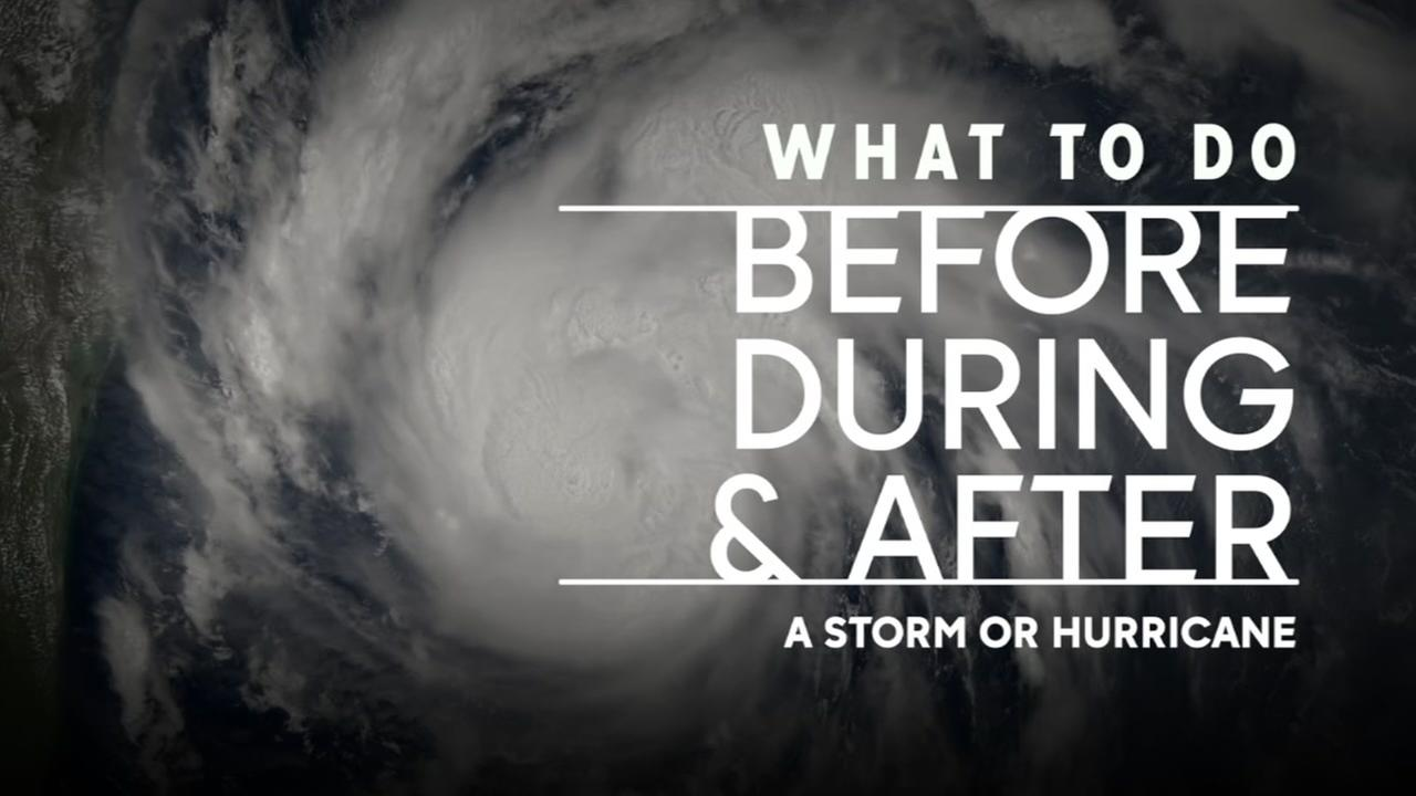What to do before, during and after a storm