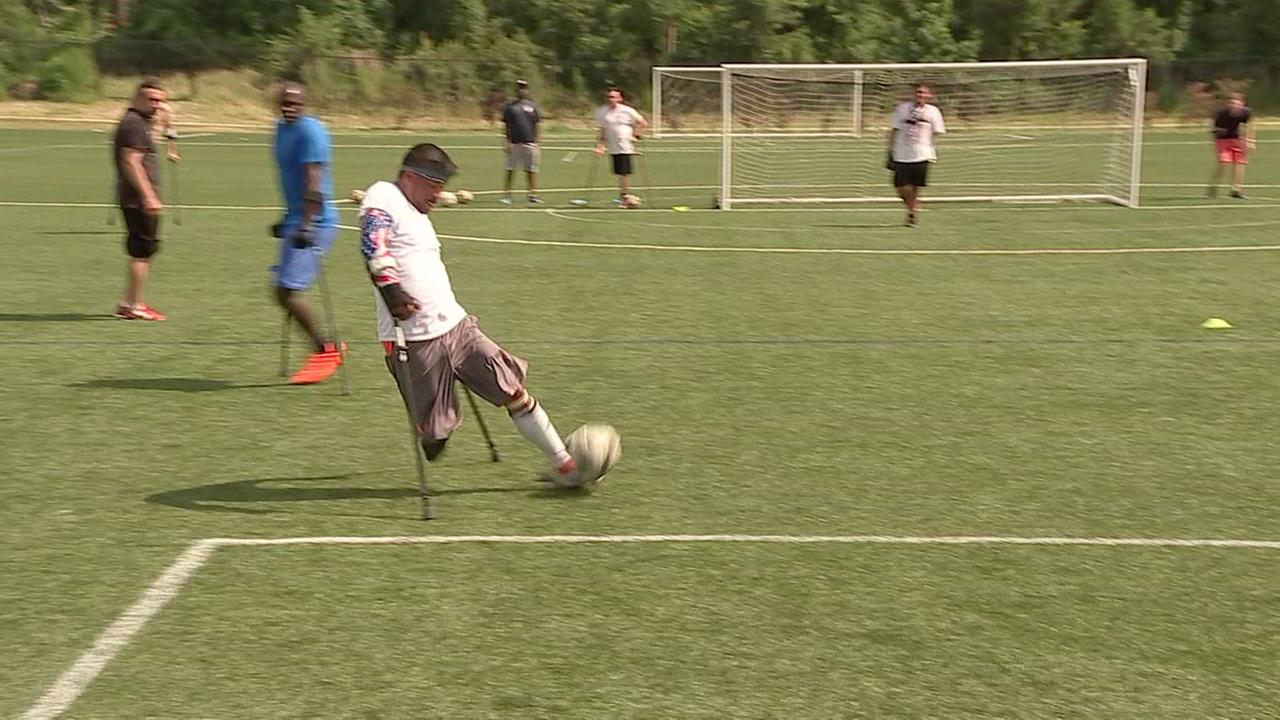 US amputee soccer team gears up for international play