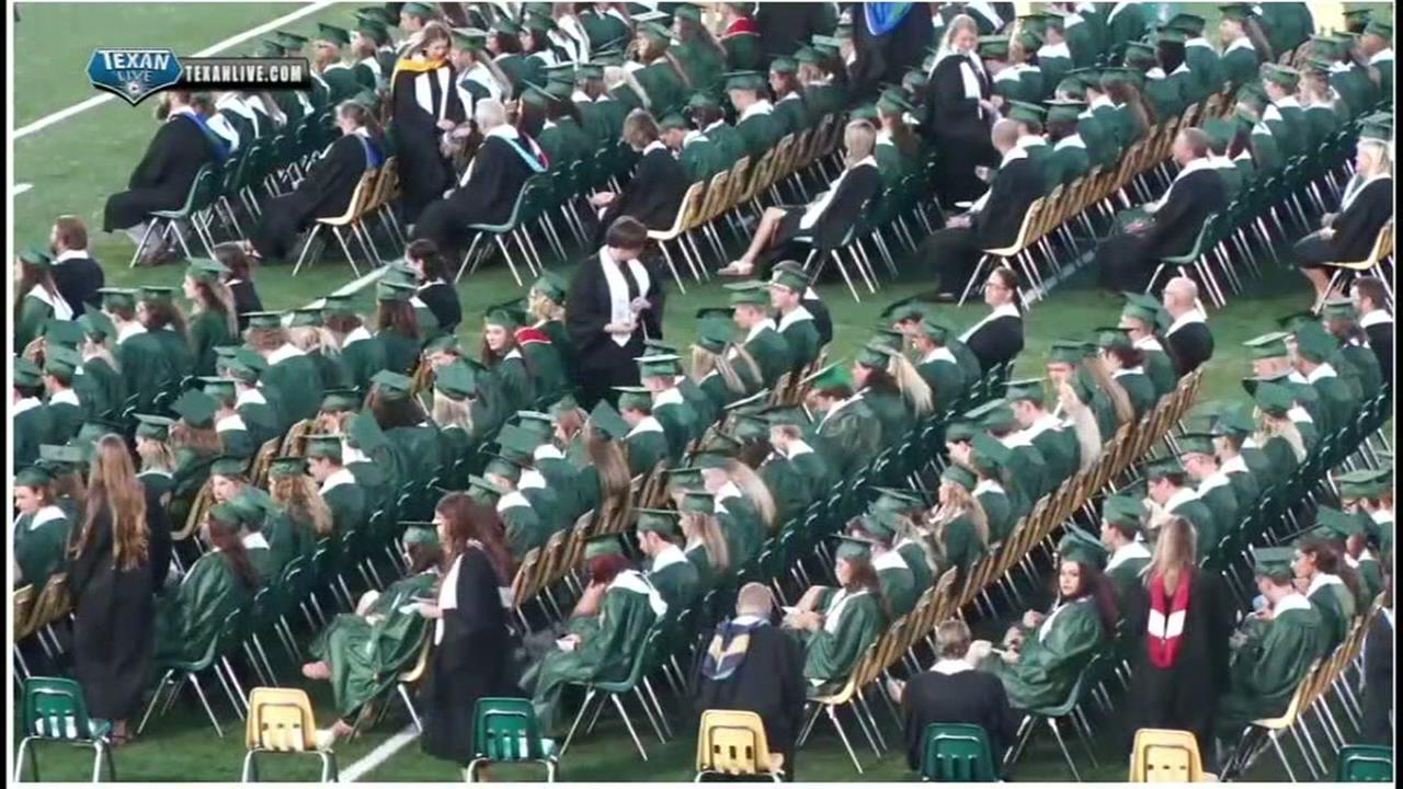 Graduation held at Santa Fe High School