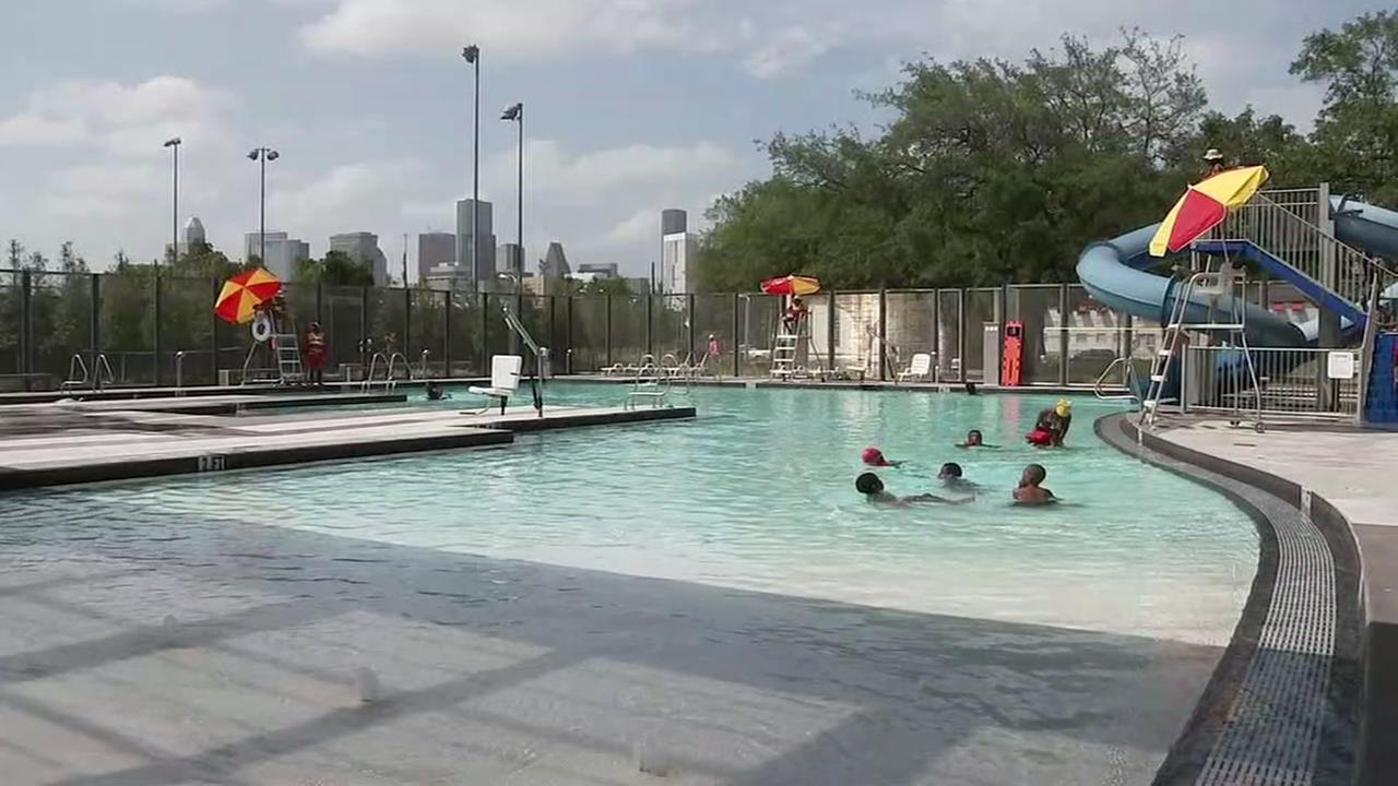 City pools opened today