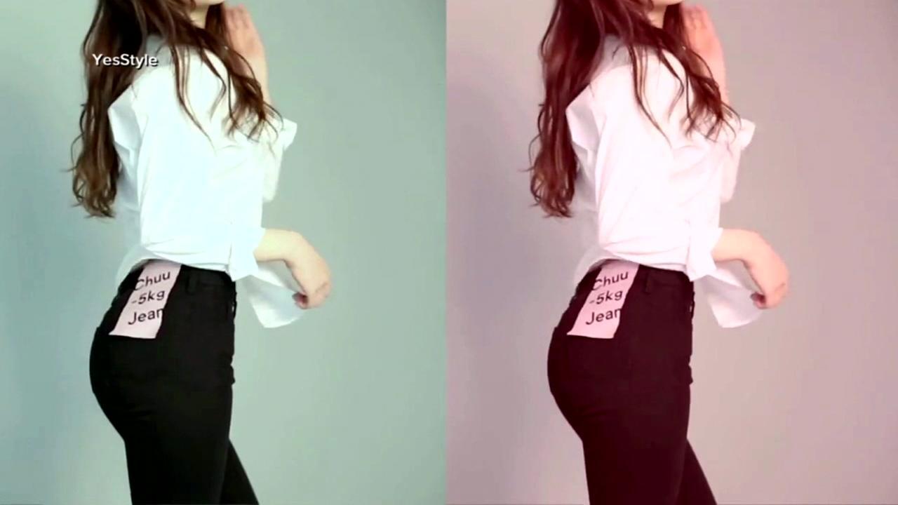 Perfect fit denim jeans