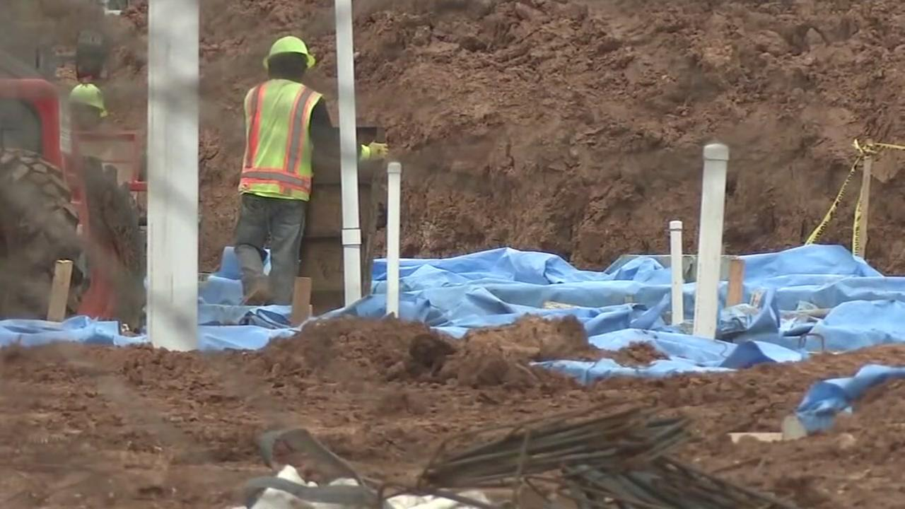 Judge grants permission to exhume graves at construction site