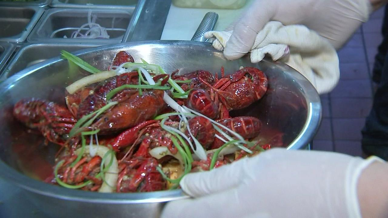 Crawfish with international flavor