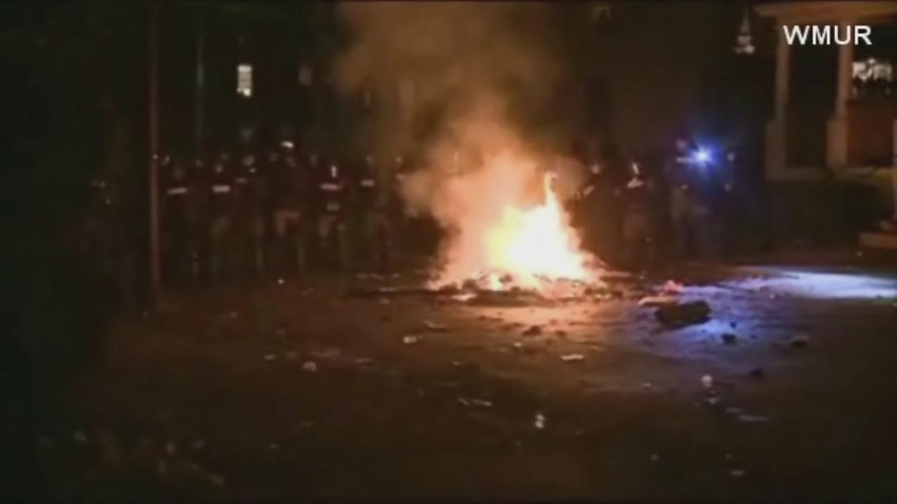 Pumpkin festival riots