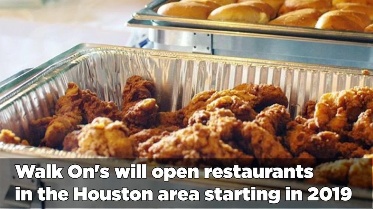 Walk-Ons opening locations in Houston area