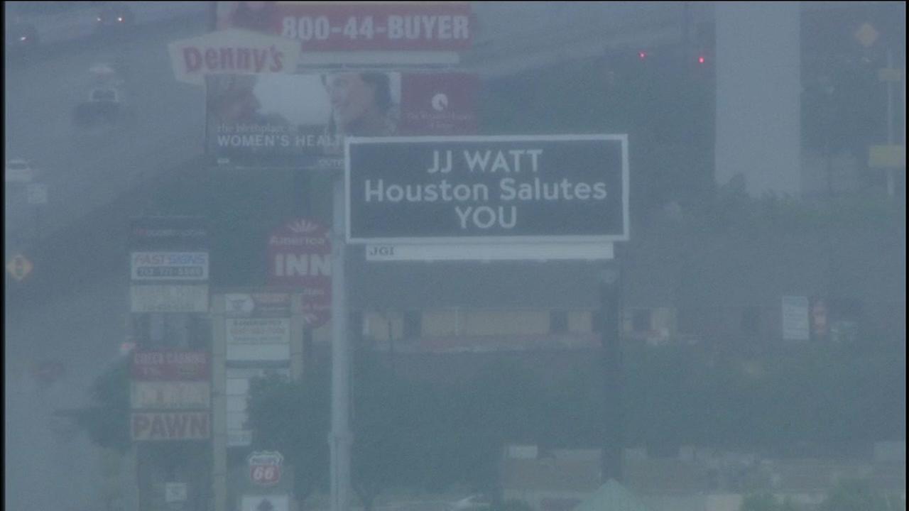J.J. Watt honored by City of Houston with billboard