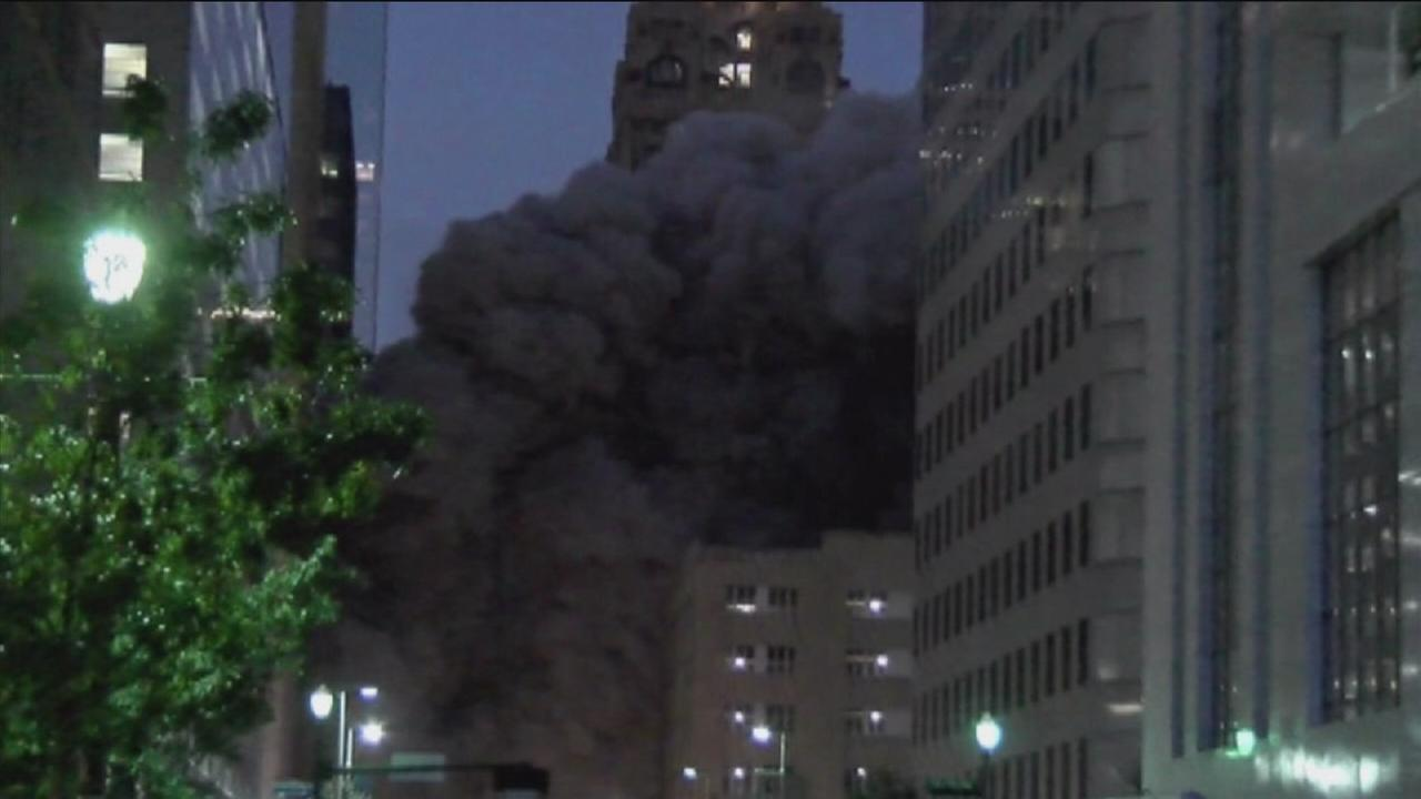 Former Houston Club building imploded