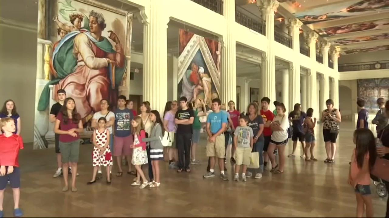 Once-in-a-lifetime Houston exhibit offers rare glimpse inside the Sistine Chapel