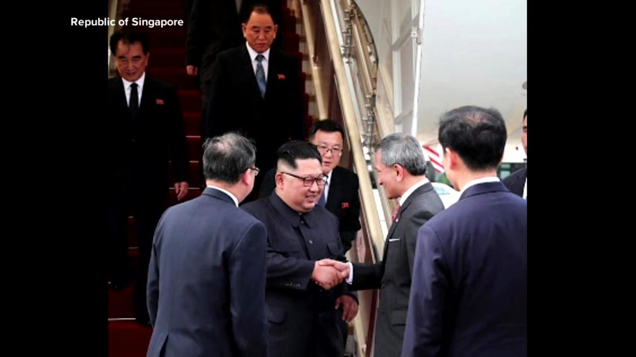 Un arrives in Singapore for summit