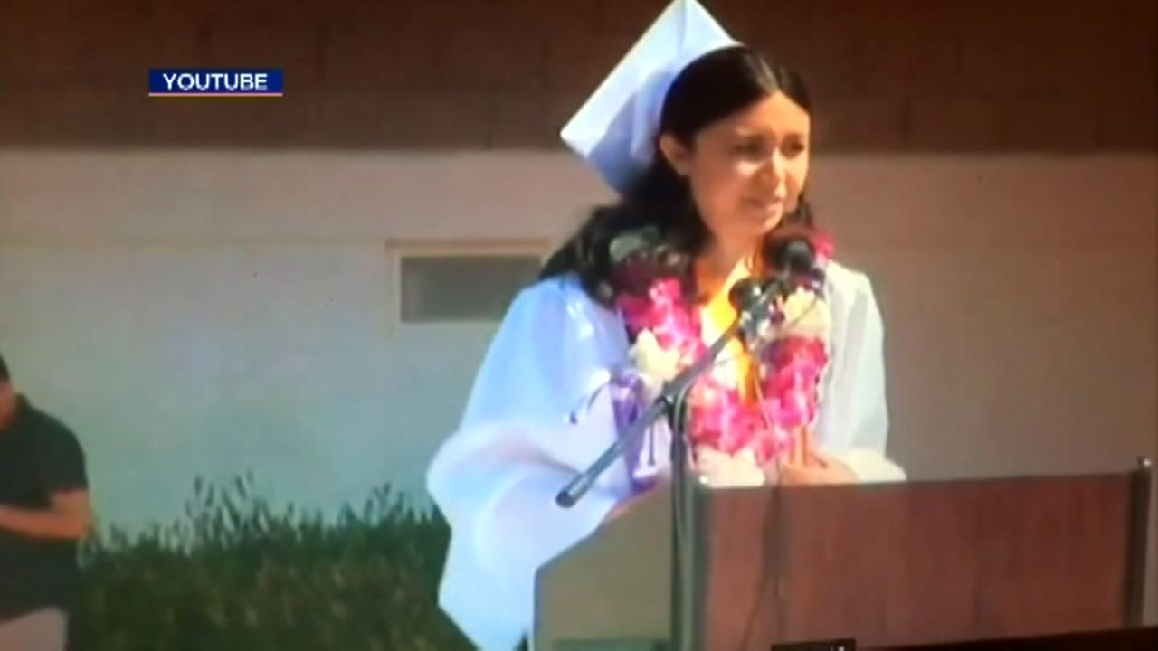 Valedictorians sexual assault speech cut off