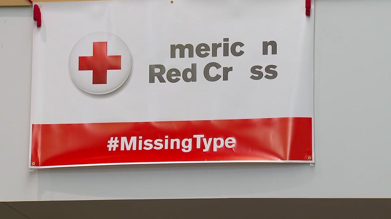Red Cross announces new drive for more blood donations.