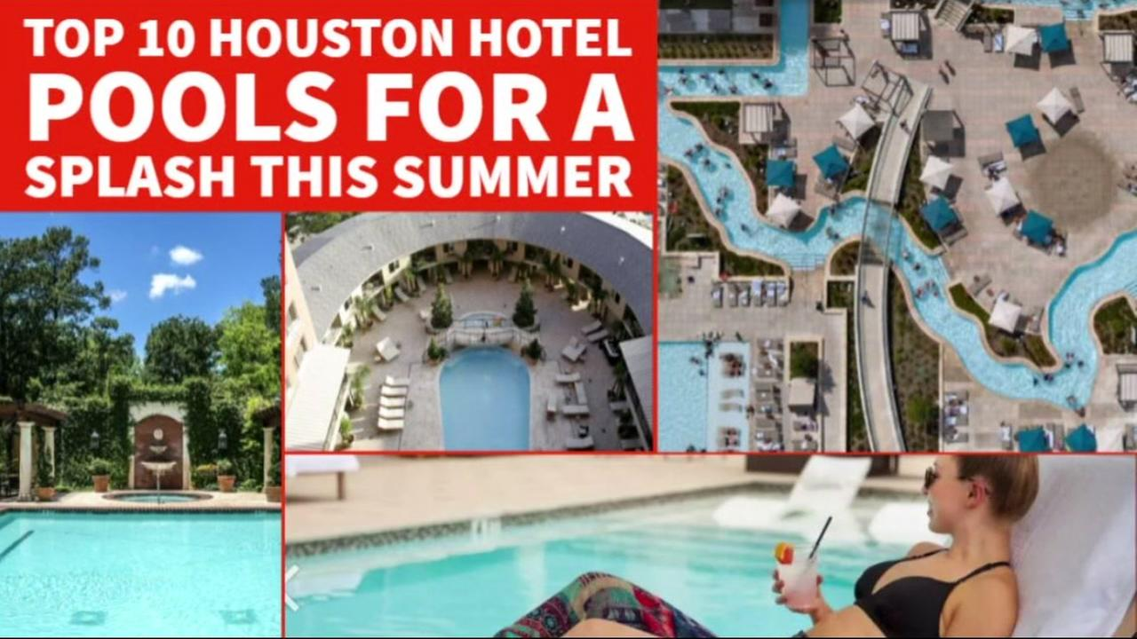 A look at Houstons top hotel pools, and how to get access to them