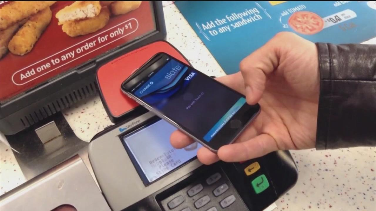 Apple Pay debuts at some stores